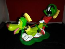 Warner Bros. Looney Tunes Marvin the Martian and K-9 bobble head 1998