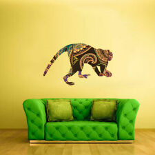 Full Color Wall Vinyl Sticker Decals Monkey Macaque Animal (Col418)