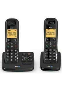 BT XD56 Twin Cordless Phones with Answering Machine and Nuisance Call Blocker