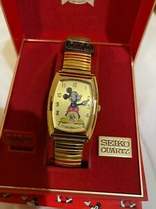 Seiko Mickey Mouse watch 60th anniversary