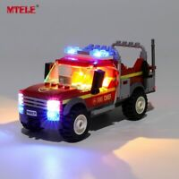 LED Light Up Kit For LEGO 60231 City Series Fire Chief Response Truck Lighting
