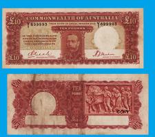 Australia 10 Pounds 1934. UNC - Reproduction