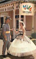 Amusement Colonel Lady Confederate Section 1960s Texas postcard 10440