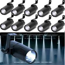 1-10Pcs Led Pinspot Beam Stage Lights Party Spotlight White Colour Dj Lighting