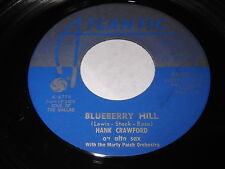 Hank Crawford: Blueberry Hill / Any Time 45