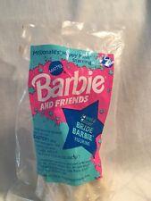VTG 1994 McDonalds Happy Meal JEWEL & GLITTER BRIDE BARBIE Doll  in ORIGINAL BAG
