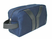 YSL - YVES SAINT LAURENT BLUE /POUCH/WASH/TOILETRY BAG NEW!