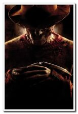 "A Nightmare on Elm Street Horror Freddy 12""x8"" Classic Silk Poster Art Print"