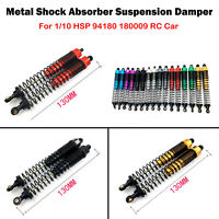 2* Metal Shock Absorber Suspension Damper for 1/10 HSP 94180 180009 RC Car Parts