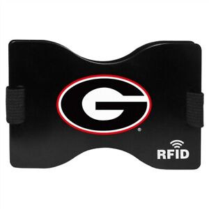 Georgia Bulldogs Wallet RFID Blocking Slim Pocket Money Clip NCAA College Sports