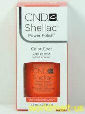 CND Shellac GelColor UV/LED: #90514_ Electric Orange 0.25fl.Oz