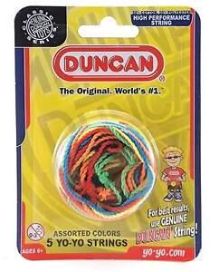 Multi-Color Yo-Yo String - 5-Pack