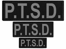 P.T.S.D.  Patch Reflective Extra Label Tag for Dog Harness Service