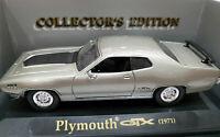 Plymouth GTX 1971 escala 1/43 Die Cast Metal