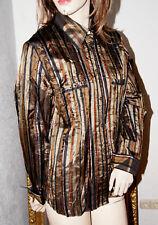 GERRY WEBER Bluse seidig silber bronze schwarz rot nw 44