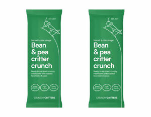 Crunchy Critters edible insects Salt & cider vinegar Bean & pea critter crunch
