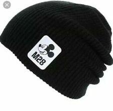 Neff Disney Mickey Mouse M28 Black Knit O/S Beanie Hat NEW