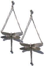 Edie Sedgwick Inspired Dragonfly earrings