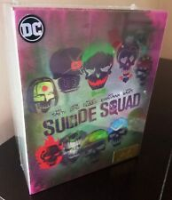 DC Comics SUICIDE SQUAD BluRay 3D 4K HDZeta STEELBOOK Ultimate Box Set