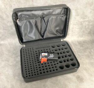 DocSafe Battery Organizer Case Bag Storage Foam Fireproof Waterproof Tester 200+