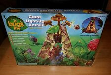 DISNEY PIXAR A BUG'S LIFE GIANT LIGHT-UP ANT HILL BY MATTEL MIB UNUSED 1998 22""