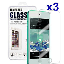 3 X Genuine Tempered Glass Screen Protector For Apple iPod Touch 5 6 5th 6th Gen