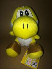 Super Mario Peluche Teddy-Jaune Yoshi Jouet Doux-Taille 19 cm Neuf & étiqueté