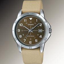 Relojes de pulsera Casio de cuero resistente al agua
