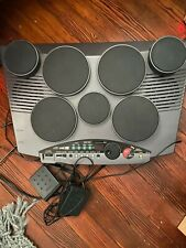 Yamaha Dd-50 digital drum pads/machine with foot pedals and power cord