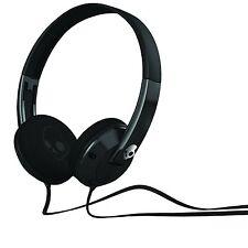 NEW Skullcandy Uprock Supreme Sound Music Headset Headphones Mic & Remote -Black