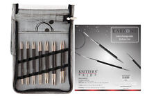 Knitter's Pride Karbonz Interchangeable Circular Knitting Needle Deluxe Set