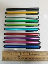 Aluminum Stylus Pen for Tablet, Cell Phone, Touch Screen Laptop - 10 Pack Bundle