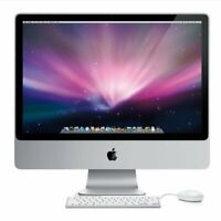 "Apple iMac 24"" Intel C2D Processor, 4GB RAM, 160GB HDD"