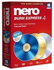 Nero Burn Express Version 4 Burn Champion SEALED Retail Box