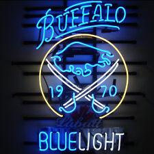 """New Labatt Blue Light Buffalo Sabres Beer Man Cave Neon Sign 24""""x20"""""""