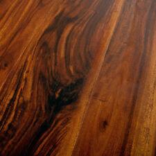 12.3mm Hand Scraped Laminate Floors AC4 Feather Step Stone Ridge Acacia -SAMPLE