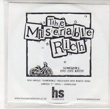 (DL984) The Miserable Rich, Somerhill / Bye Bye Kitty - 2010 DJ CD