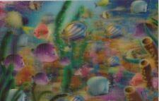 3 -D - Magnet: tropische Fische im Korallenriff