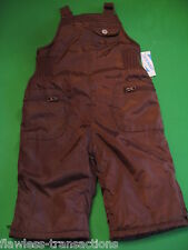 OLD NAVY Winter Bib Snow Suit Overalls Baby Snowsuit Size 6 -12 Months NEW