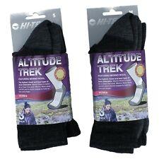 Ladies Hi-Tec Merino Wool Grey/Purple Hiking Socks 3 Pack - Altitude Trex