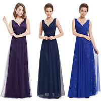 Ever-Pretty Women's Long Formal Evening Gowns Bridesmaid Prom Dresses 08532