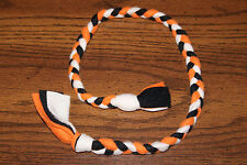 New Bengals / Halloween / Harley Colored Handmade Braided Fleece Cat Toy BCR