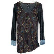 Custo Barcelona Long Sleeve Shirt Womens Top size 1 S