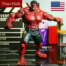 "10"" Action Figure Marvel Avengers Red Hulk Titan Super Hero Incredible Toy"