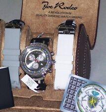 New Authentic Mens JOJO Joe Rodeo master jjms1wyb 2.20ct.apx.242 Diamonds watch.