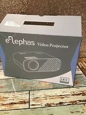 ELEPHAS W90 Video Projector- Used- READ