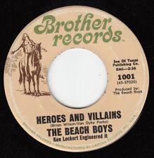 1967 BEACH BOYS 45~HEROES AND VILLAINS~BROTHER 1001~NEAR MINT
