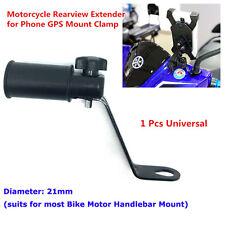 Universal black Phone GPS Handle Bar USB Charger Holder For Metorcycle Bike