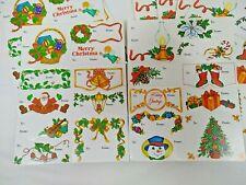 170 Christmas Gift Tags Cardstock 2 Designs Tear apart design