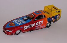 John Force #1 Castrol/Superman 1999 Mustang Funny Car Action 1:24 AUTOGRAPHED